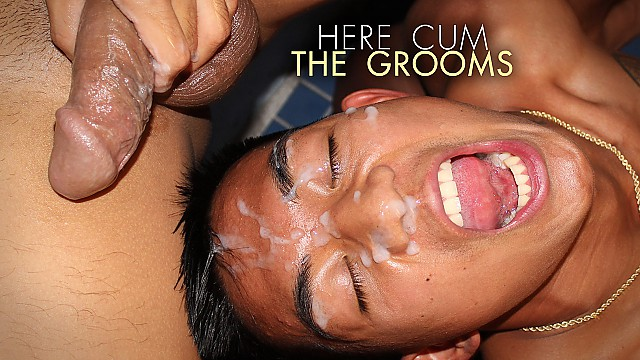 Sexy Rich Gaysians 6: Here Cum the Grooms