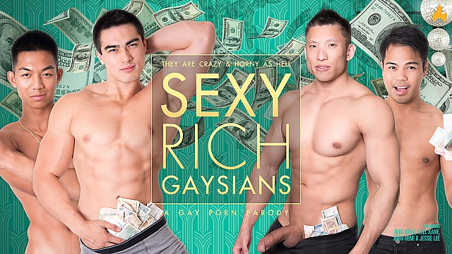 Behind the Scenes: KINK and SEXY RICH GAYSIANS