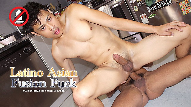 Latino Asian Fusion Fuck