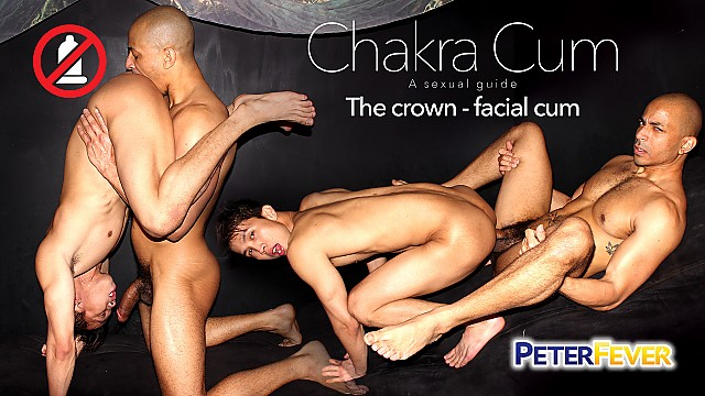 Chakra Cum 2: The Crown Facial Cum