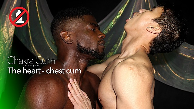 Chakra Cum 5: The Heart (Chest Cum)